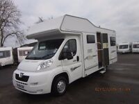2008 ELDDIS AUTOQUEST 180 6 BERTH MOTORHOME WITH ONLY 35K MILES ANDERSON CARAVAN AND MOTORHOME SALES