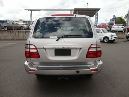 2003 Toyota Landcruiser HDJ100R GXL Silver 5 Speed Automatic Wagon Toowoomba 4350 Toowoomba City Preview
