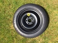 Ford Focus Space Saver spare wheel and tyre with jack 2006 model