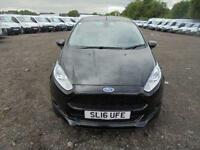 Ford Fiesta 1.5 Tdci Sport Van DIESEL MANUAL BLACK (2016)