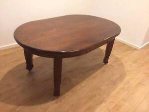 Antique dining table seats 6 Spotswood Hobsons Bay Area Preview