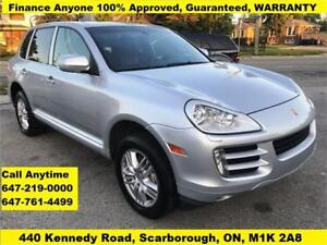 2008 Porsche Cayenne S AWD FINANCE 100% APPROVED GUARANTEED