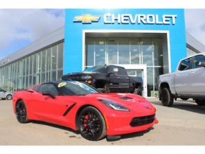 2015 Chevrolet Corvette Stingray Z51 2LT Low Kms 780-938-1230