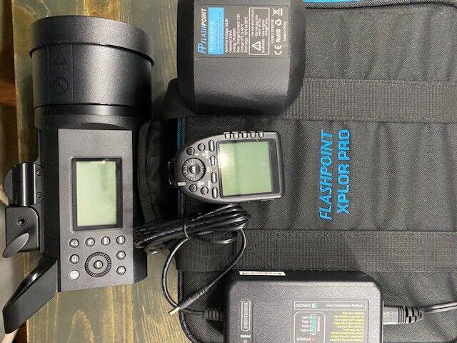 Flashpoint Xplor 600pro TTL HSS Battery Powered Monolight For Canon