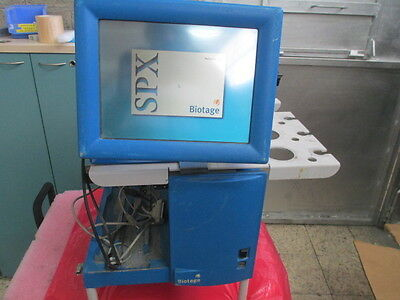 Biotage Sp1-b2c Flash Chromatography Purification System 09722 F Screen Monitor