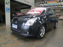 2007 Suzuki Swift EZ S Black 5 Speed Manual Hatchback Mordialloc Kingston Area Preview