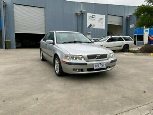 2002 Volvo S40 MY03 2.0 Silver 5 Speed Automatic Sedan Newport Hobsons Bay Area Preview