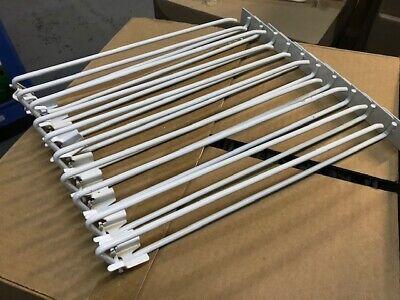 16 Peg Board Scanner Hook Swivel Scan Pegboard Slat Slot Hooks Wall 50 Pack