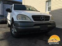 1998 Mercedes ML320 | AUTOMATIC, AWD, 4-DOOR SUV