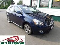 2009 Pontiac Vibe AWD only $105 bi-weekly all in!
