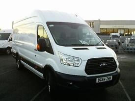 Ford Transit T350 L4 H3 125PS VAN DIESEL MANUAL WHITE (2014)