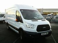 Ford Transit T350 L4 H3 125PS VAN DIESEL MANUAL WHITE (2014)