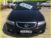 2005 Honda Accord MY05 Upgrade Euro Luxury Black 5 Speed Sequential Auto Sedan Kogarah Rockdale Area Preview