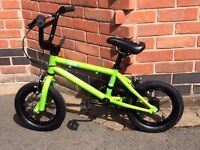 Kids HARO Freestyle BMX Bike 12 inch Wheels - in almost PERFECT condition - Cost new £189