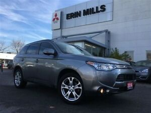 2014 Mitsubishi Outlander CLEARANCE GT NAV KEYLESS AWC LEATHER