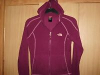 north face hooded fleece