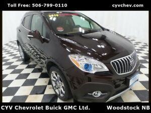 2014 Buick Encore CXL AWD - Sunroof, Heated Leather Seats & Heat