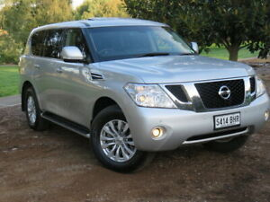 2013 Nissan Patrol Y62 TI Silver 7 Speed Sports Automatic Wagon Morphett Vale Morphett Vale Area Preview
