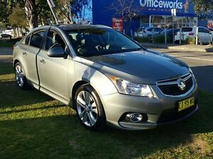2014 Holden Cruze JH MY14 SRI Z-Series Grey 6 Speed Automatic Sedan Five Dock Canada Bay Area Preview