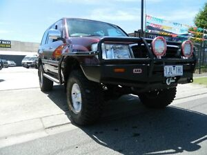 2000 Toyota Landcruiser HZJ105R GXL Burgundy 5 Speed Manual Wagon Williamstown North Hobsons Bay Area Preview