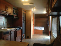 Grey Wolf 28' Toy Hauler Trailer- Great condition!