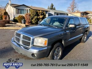 2005 Dodge Dakota SLT 4x4 Quad cab LOW KM! MUST SEE! NEW TIRES!