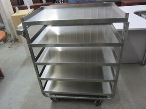 CHARIOT INOX CUISINE RESTAURATION FOODSERVICE STAINLESS CART
