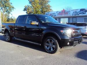 2014 Ford F-150 FX4 NAV LEATHER SUNROOF BACK UP