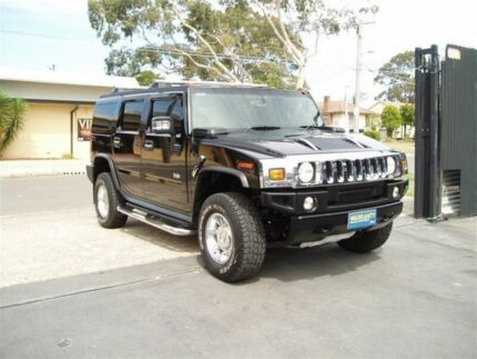2006 Hummer H2 4X4 Luxury Black Automatic Wagon