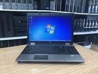 HP Probook 6550b Core i5 2.40Ghz 4GB Ram 250GB Web Ati 512MB Win 7 Laptop