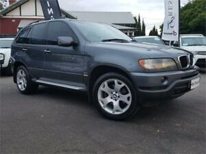 2001 BMW X5 E53 3.0I Grey 5 Speed Auto Steptronic Wagon Mount Hawthorn Vincent Area Preview