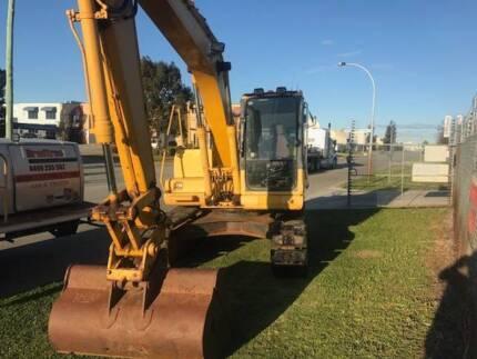 excavator komatsu 13 ton pc130-7