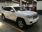2012 Jeep Grand Cherokee WK MY12 Overland (4x4) White 5 Speed 5 SP AUTOMATIC Wagon Ottoway Port Adelaide Area Preview