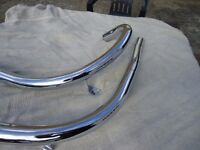 BSA NEW EXHAUST PIPES