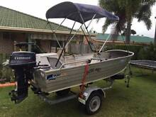 Quintrex 3.9m Trevally with 20hp Evinrude Bucasia Mackay City Preview