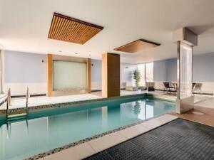 4 1/2 2 chambres vue montréal piscine garage tout inclus