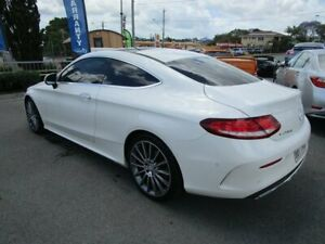 2016 Mercedes-Benz C-Class C205 C250 d 9G-Tronic White 9 Speed Sports Automatic Coupe Kedron Brisbane North East Preview