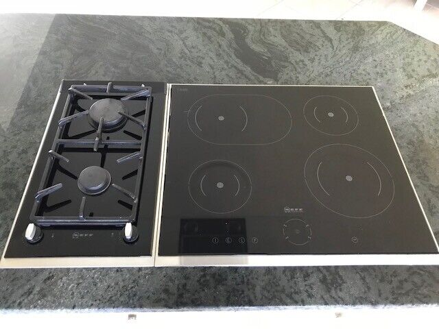 Neff Domino Gas Hob Electric Standalone Cooker Top With Touch