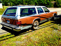 CA$H or TRADE~ 1989 Mercury Colony Park LS ~8 seats, No Rust,MVI