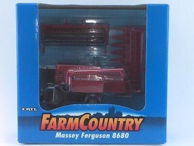 1/64 ERTL MASSEY FERGUSON 8680 COMBINE