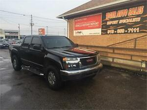 2006 GMC Canyon SLE**SUNROOF*4DR**OFF ROAD PACKAGE**ONLY 121 KMS