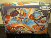 BNIB Marvel Spider-Man Junior ReadyBed, 2-in-1 airbed & sleeping bag. Brand new in box, great gift
