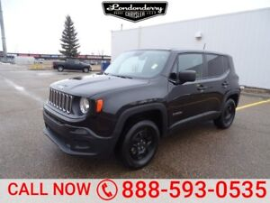 2015 Jeep Renegade 4WD SPORT Accident Free,  A/C,