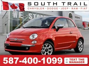 2017 FIAT 500 Lounge - Call/txt/email ROGER @ (587)400-0613