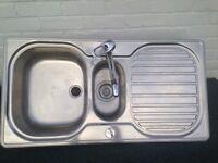 Stainless steel kitchen sink (Franke)