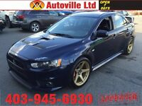2014 MITSUBISHI LANCER EVOLUTION GSR LOW KMS 5 SPEED MANUAL