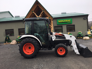 2012 BOBCAT CT455 - CAB AND LOADER -LIKE NEW ONLY 68 HOURS! LOOK