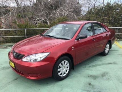 2004 Toyota Camry ACV36R Altise Cherry Red 4 Speed Automatic Sedan North Manly Manly Area Preview