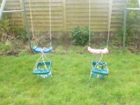 TP metal frame double swing.
