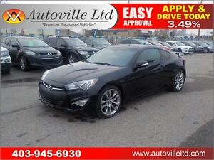 2013 HYUNDAI GENESIS 3.8 R 274HP AUTO NAVIE LEATHER ROOF